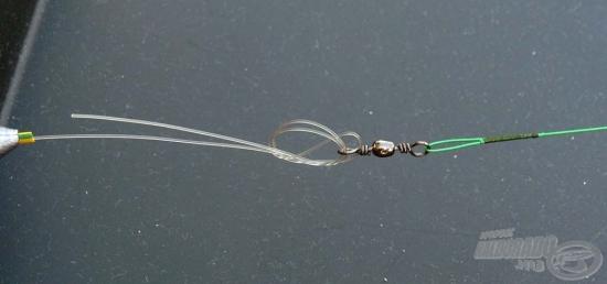 Palomar čvorom pričvrstite sajlicu