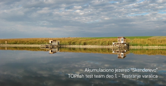 Akumaliciono jezere Skenderovo - TOPfish test team