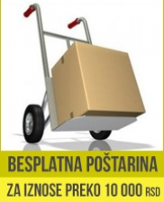Besplatna potarina iznad 10000