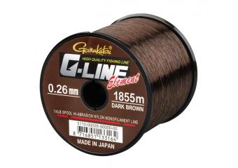 NAJLON G-LINE ELEMENT DARK BROWN (0.28 - 0.40mm) (1490 - 755m )