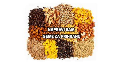 pripremite semena za prihranu sami