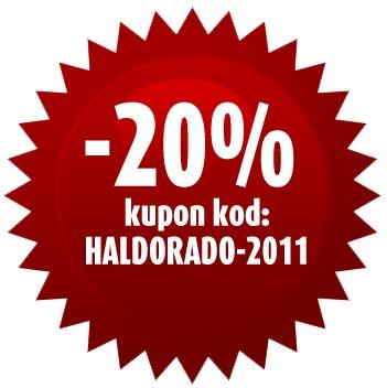 Popust 20% na sve HALDORADO proizvode do 15. januara