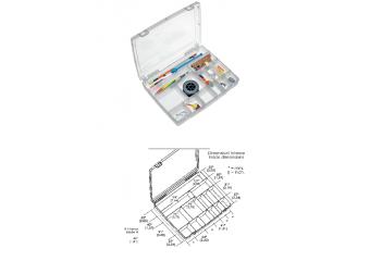 Kutija za pribor 14 pregrada 325x255x52mm