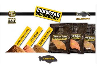 SBS Eurostar Groundbait Jagoda 1kg
