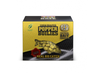 SBS CORN SHAPED POPPER BOILIES 8,10mm(vise vrste)