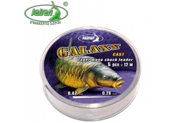 Katran Galaxy Cast Tapered Shock Leader