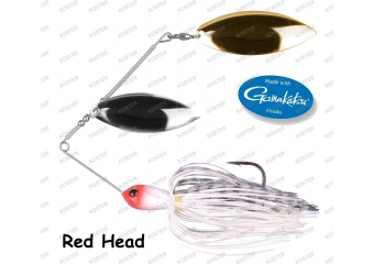 VARALICA RINGED SPINNERBAIT 12CM,21GR RED HEAD