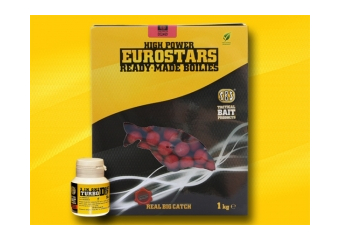 SBS Eurostar Boile 1kg + 50ml dip Ananas & Banana 14mm
