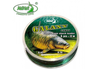Katran Galaxy Camou Tapered Shock Leader