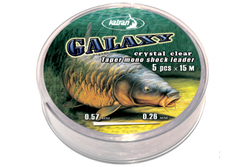 Najlon Mono Leader Galaxy 0,26-0,57mm 5x15m