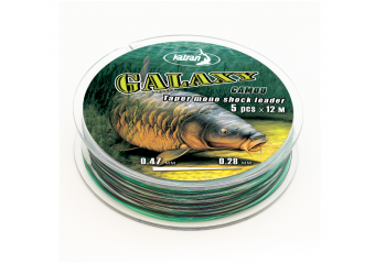 Najlon Mono Leader Galaxy Camo 0,28-0,47mm 5x12m